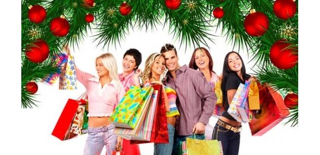 Новогодняя розничная продажа