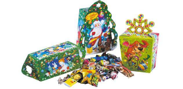 Подарки и конфеты