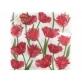 Двухслойная 33х33 Цветы