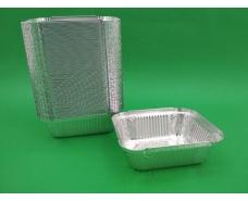 ᐉКонтейнер из пищевой алюминиевой  прямоугольный 430мл SP24L 100шт в упаковки (1 пач)