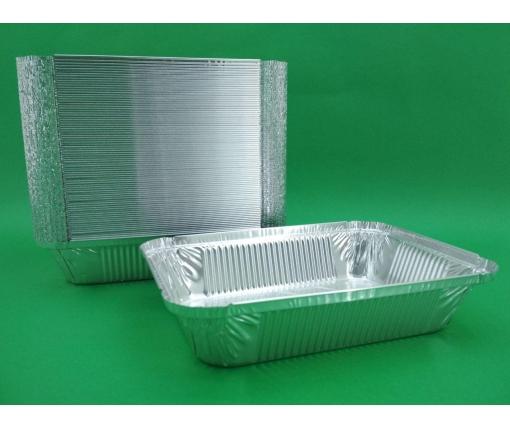 ᐉ Контейнер алюминиевый прямоугольный 960 млл SP64L 100 штук  (1 пач)