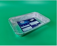 Контейнер алюминиевый для выпечки  2шт (2100 мл) (R86L/2) (1 пач)
