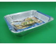 Алюминиевые контейнера  2шт R98G/2(320х260х5) 3100ml (1 пач)
