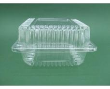 Контейнер пластиковый с откидной крышкой  SL25-1 V1350 млл 139*139*47 (50 шт)