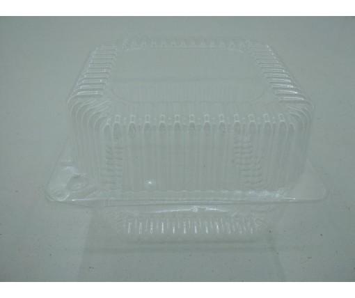 Одноразовая пищевая упаковка с крышкой SL25-1 V1350 млл 139*139*47