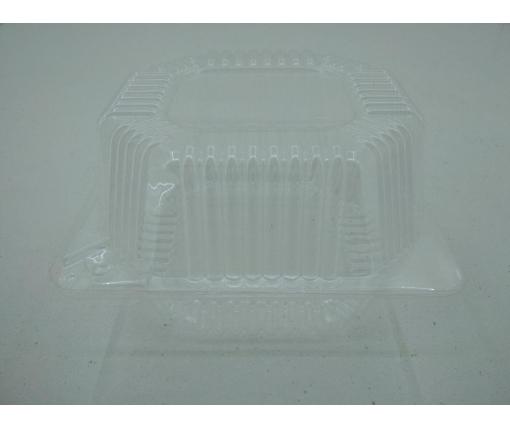 Упаковка для кондитерских изделий с откидной крышкой V910 млл ПС-100 135*130*77 в упаковке 50 штук