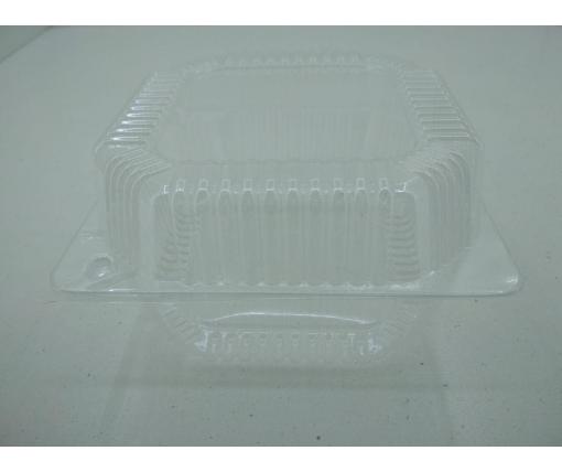 Контейнеры для десертов с откидной крышкой V1250 млл ПС-11 155*155*80