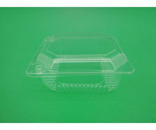 Контейнеры для десертов пластиковый с откидной крышкой V750 млл ПС-9 135*130*60 в упаковке 50 штук