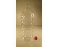 Пластиковая бутылка ПЭТ 3,0 л, прозрачная с крышкой  (50 шт)