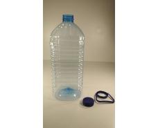 Пластиковая бутылка ПЭТ 6,0 л. прозрачная с крышкой (20 шт)