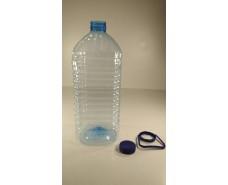 Пластиковая бутылка ПЭТ 6,0 литра прозрачная с крышкой (20 шт)
