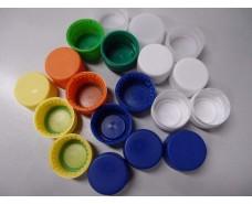 Крышка пластиковая на  бутылку ПЭТмалая 1с цветная (5000 шт)