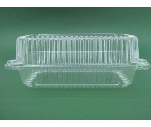 Одноразовая пластиковая упаковкас откидной крышкой SL35-1  V1600 млл в упаковке 50 штук