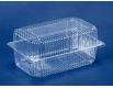 Одноразовая пластиковая упаковкас откидной крышкой ПС-120 V1550 млл в упаковке 50 штук