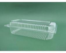 Контейнер пластиковый с откидной крышкой ПС-121 V1300 млл 230*130*60 (50 шт)