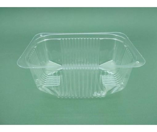 Контейнер пластиковый для салатов и полуфабрикатов  ПС-140 (V1000мл\180*130*68) (50 шт)