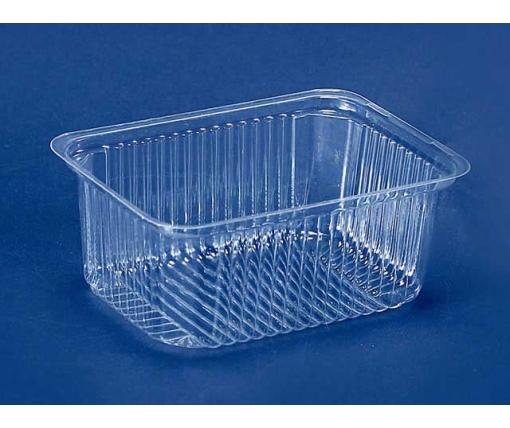 Контейнер пластиковый для салатов и полуфабрикатов ПС-160 (V500мл\143*103*58) (50 шт)
