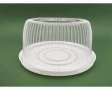 Упаковка для тортов ПС-230 V2600мл d235мм h95мм (50 шт)