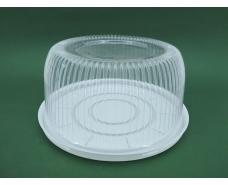 Упаковка для тортов ПС-24 V3500 мл d260 h116 (50 шт)