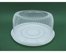 Упаковка для тортов ПС-24 (V3500мл)Ф260*116 (50 шт)