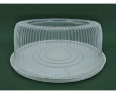 Упаковка для тортов ПС-25 V5300 мл d280 h122 (50 шт)