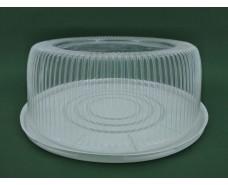 Упаковка для тортов ПС-25 (V5300мл)Ф280*122 (50 шт)