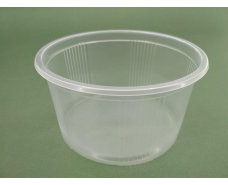 Емкость полипропиленовая круглая(для жидкого и горячего) ЕМ-110058 -350мл (50 шт)