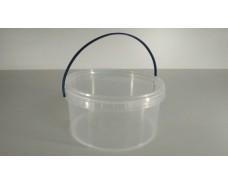 Емкости 0,5литра круглое ,прозрачное . (50 шт)