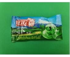 """Салфетка для дезинфекции рук  15шт """"Lili  """"Зелёный чай"""" (1 пач)"""