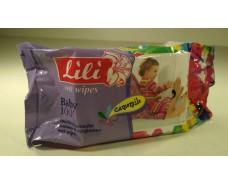 Влажная салфетка 100шт Lili