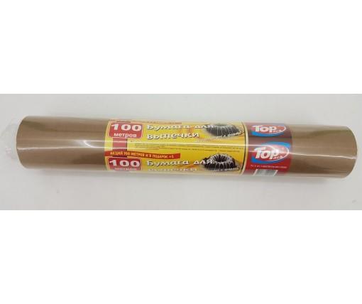 Бумага для выпечки  (100м38см) (Неполный метраж!) (1 рул)