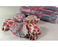 Формочки бумажные  для выпечки кексов (4,5*4см - 10*10,5 см) сердце 1000шт  93 (1 уп.)
