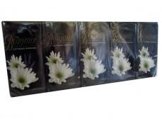 Бумажный  носовой платок Bonjour цветочный (10 шт)