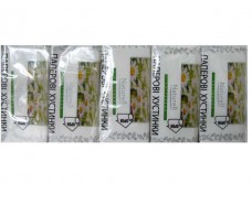 Платки носовые двухслойные  Naturell цветок (10 шт)