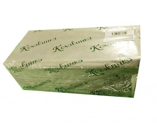 Бумажное полотенце V/V серое(170листов) Каховинка (1 пач)