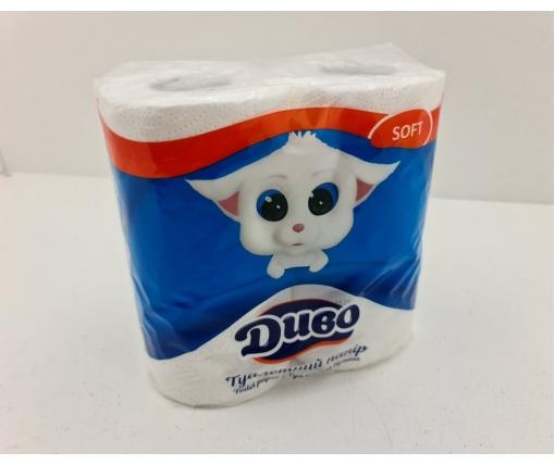 Бумага туалетная  белая (а4) Диво SOFT (1 пачка)