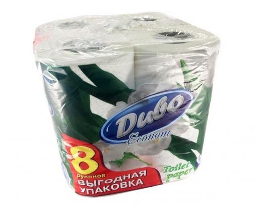 Бумага туалетная  белая (а8) Диво Эконом (1 пачка)