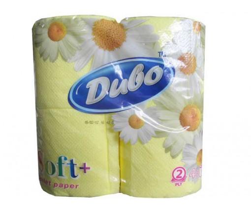 Бумага туалетная  желтый (а4) Диво СОФТ (1 пач)