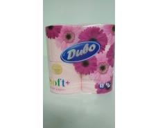 Туалетная бумага  розовая (а4) Диво СОФТ (1 пач)