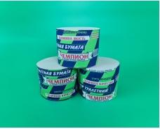 Туалетная бумага Чемпион Зеленый (12,5/10,0) (24 рул)