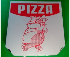Коробка под пиццу 30см c печатью Pizza (50 шт)