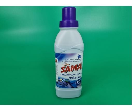 Гель для стирки 500г  хлопок/лен/синтетика SAMA  (1 шт)