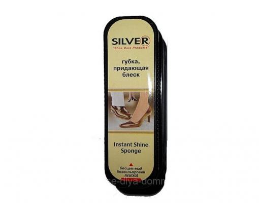 Губка-блеск для обуви бесцветный Silver (1 шт)
