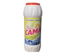 Чистящий порошок для мытья посуды САМА Лимон 500г (1 шт)