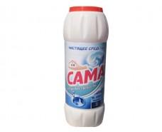 Чистящий порошок для мытья посуды САМА Морская свежесть 500г (1 шт)