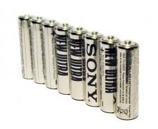 Элемент питания Батарейка  Sony (АА R6) солевые (Б-8) (8 шт)