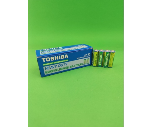 Батарейка Тoshiba (АА R6) (Б-4)) (4 шт)