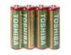 Батарейка ( Элемент питания)Тoshiba (АА R6) солевые (Б-4) (4 шт)