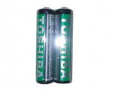 Батарейка (минипальчик) Тoshiba (ААА R3) солевые (Б-2) (2 шт)