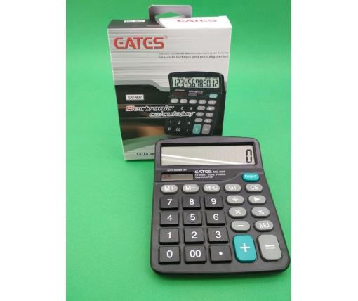 """Калькулятор """"EATES"""" DC 837(12разрядный 2питания) (1 шт)"""